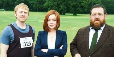 Lindsay Lohan y Rupert Grint actuarán juntos en 'Sick Note'