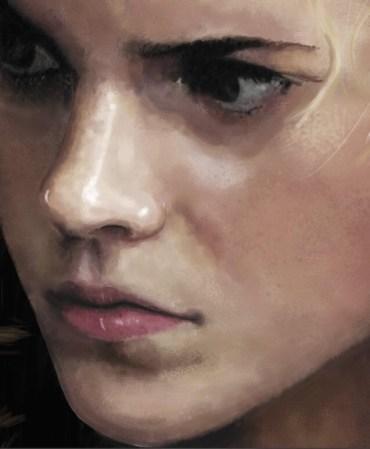 Asómbrate con este increíble fan-art de Hermione Granger!