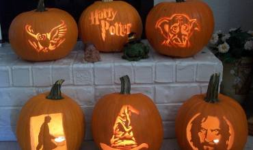 Decora tu casa en Halloween a lo Harry Potter!
