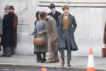 Primeras imágenes del rodaje de 'Los Crímenes de Grindelwald' en Londres!