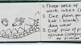 Imágenes del mini-libro de 'La Piedra Filosofal' escrito a mano por JK Rowling