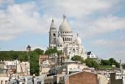 Vue Sacré Coeur depuis terrasse panoramique hotel Carlton's Paris