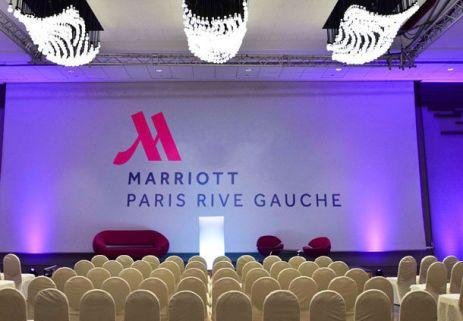 Marriott Rive Gauche réception