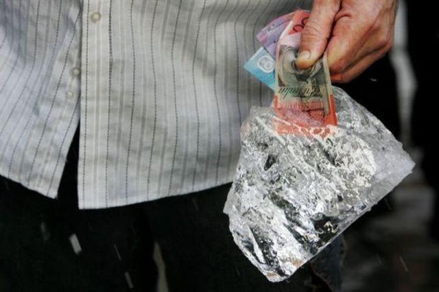 Dinheiro congelado