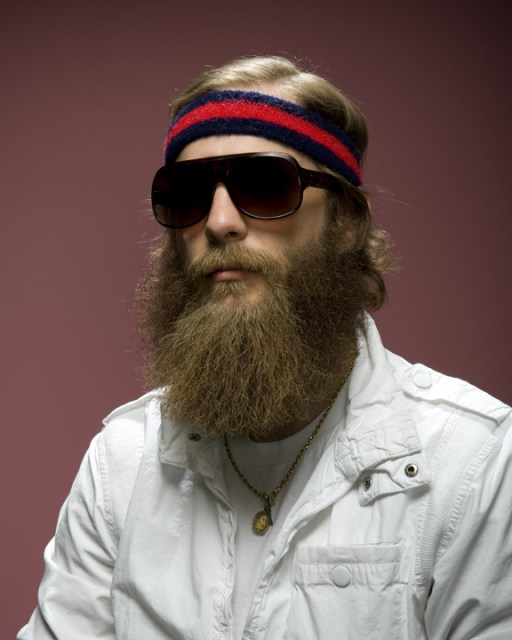 Barbas e bigodes estranhos