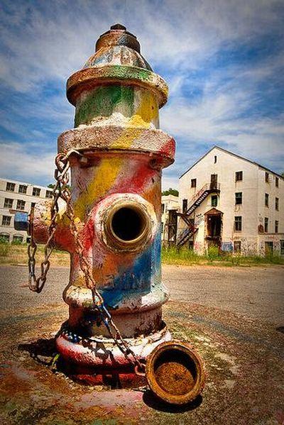 Arte em hidrantes