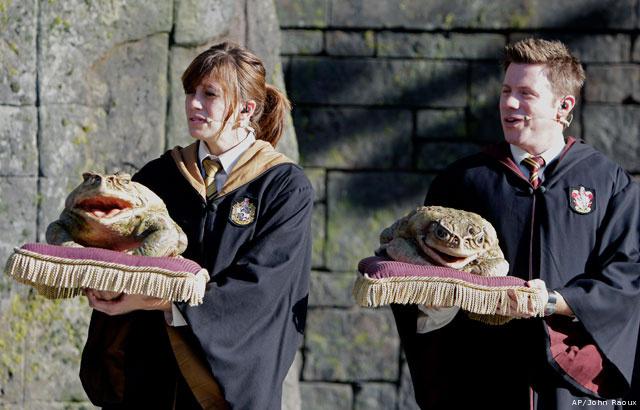 Novo parque temático de Harry Potter