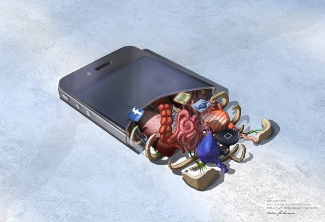 A anatomia de controles de videogame e do iPhone 4