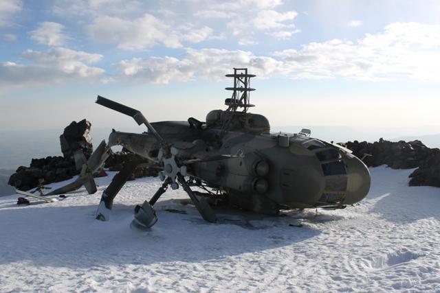 Era uma vez um helicóptero no meio do nada