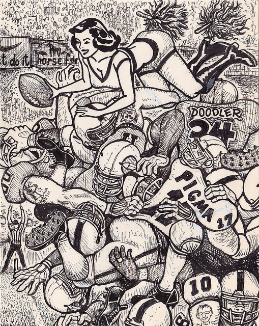 Artes diversas de um mesmo rascunho
