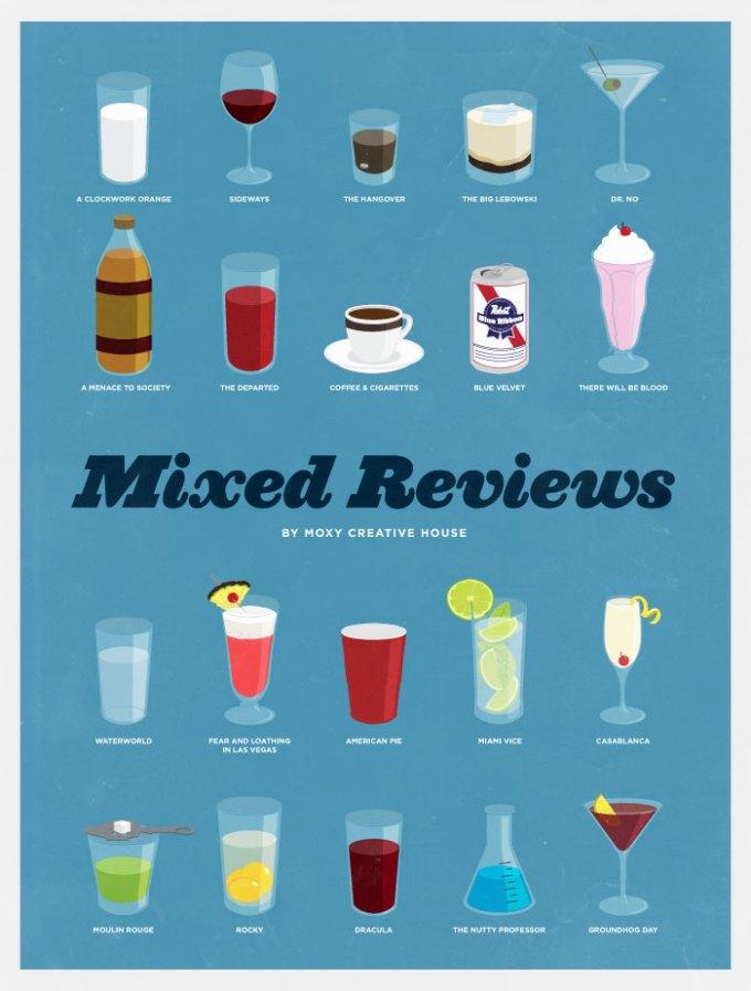 20 drinks famosos de filmes famosos