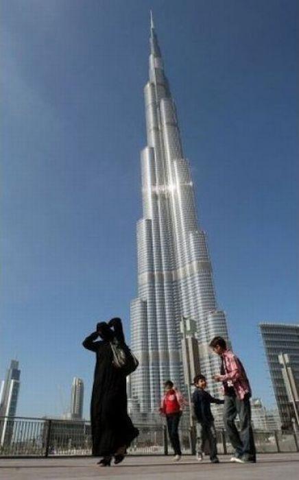O restaurante mais alto do mundo