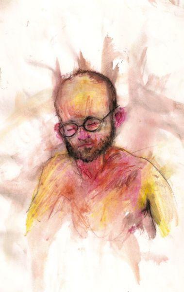 Auto-retrato de vários viciados em drogas
