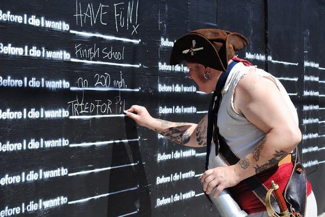 Antes de morrer eu quero...