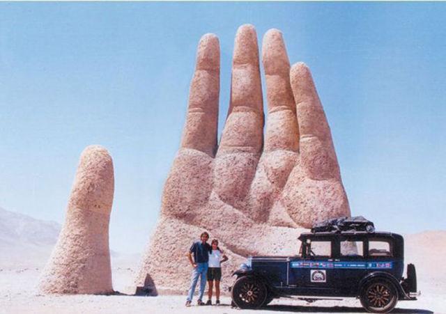 Casal viaja sem destino pelo mundo há 11 anos