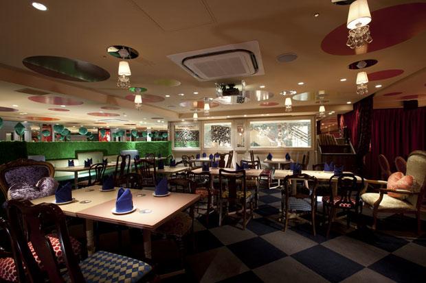 Restaurante do País das Maravilhas