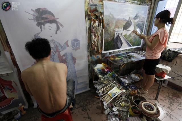 Produzindo obras de arte em larga escala