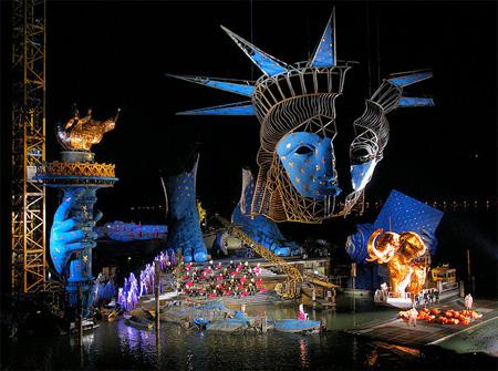 Incríveis Cenários de Ópera: Aida