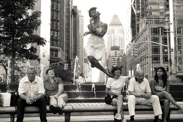 Dancers Among Us [Projeto fotográfico: Dançarinos Entre Nós]