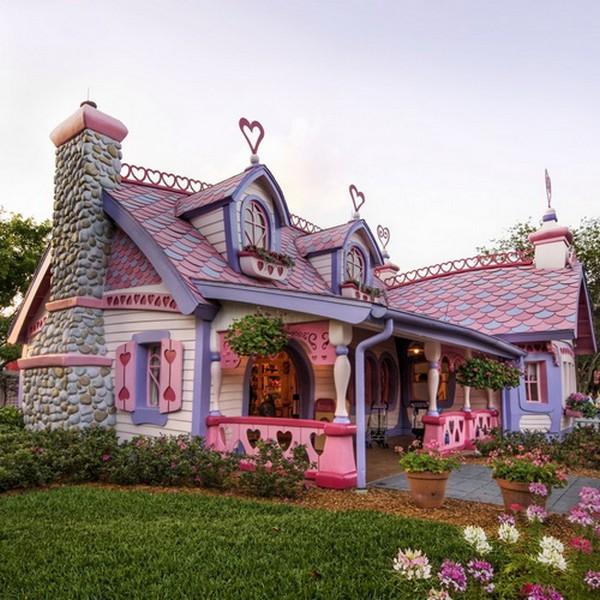 Casas dignas de contos de fadas