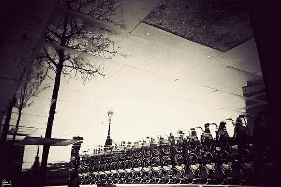 Projeto fotográfico: Londres em poças