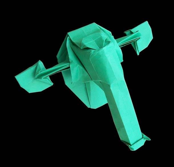 Starwarigami: as naves de Star Wars em origami