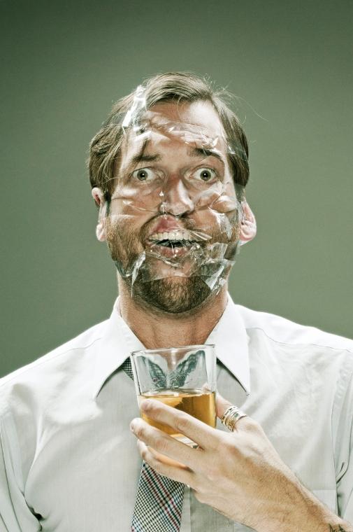 Projeto fotográfico: Scotch Tape Series