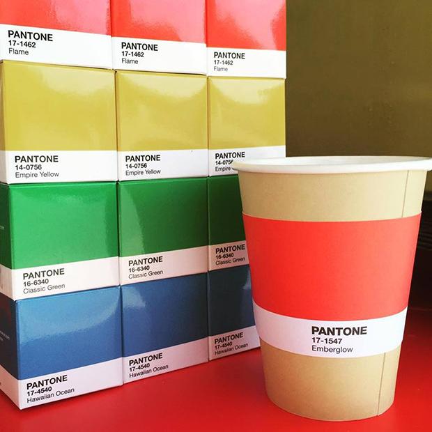 Pantone Cafe: um restaurante que dá gosto de ver