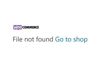 fix file not found go to shop woocommerce error