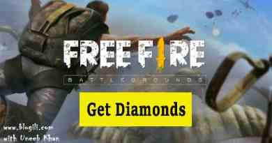 Get Diamonds in Free Fire