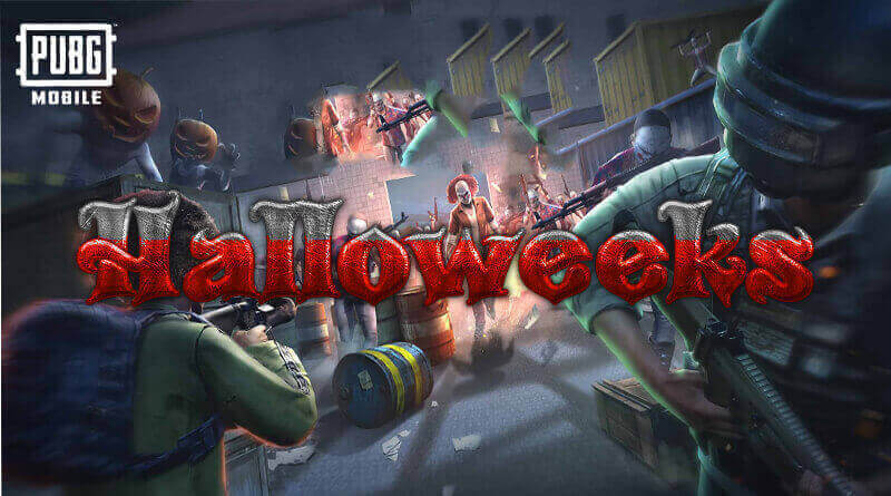 Halloweeks in PUBG Mobile