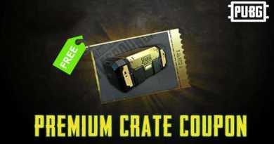 PUBG Mobile Premium Crate Coupon