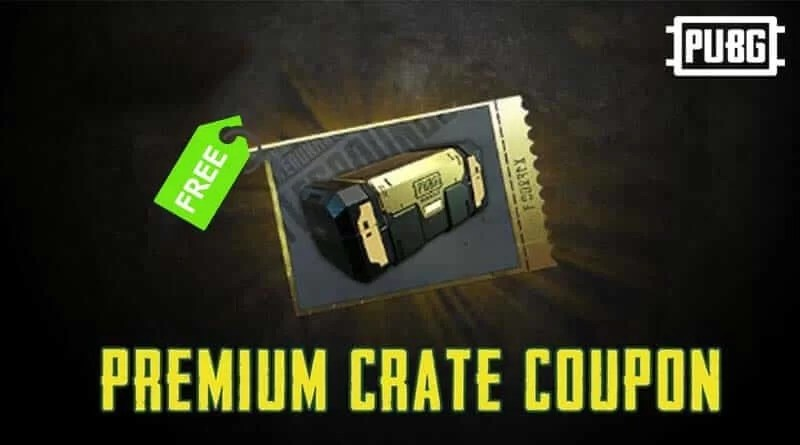 PUBG Mobile Premium Crate Coupon