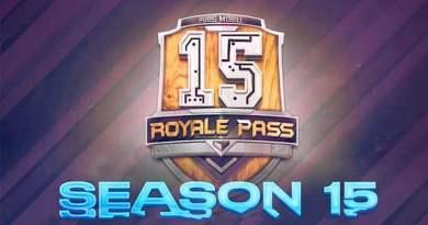 When will PUBG Mobile Season 15 end