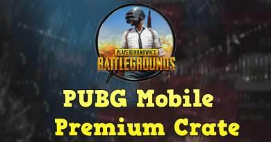 PUBG Mobile Premium Crate Coupon November 2020