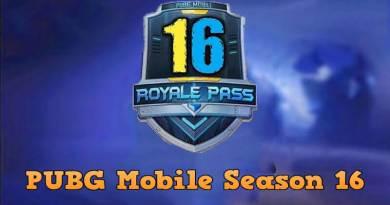 PUBG Mobile Season 16