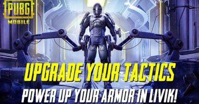 Power Armor in PUBG Mobile