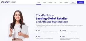Create an Account to start promoting ClickBank offers