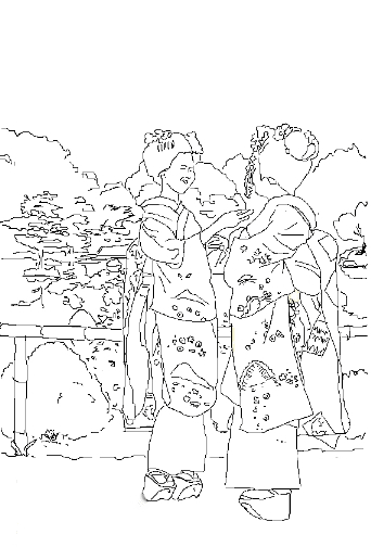 PC版大人の塗り絵 - ミニ美術館