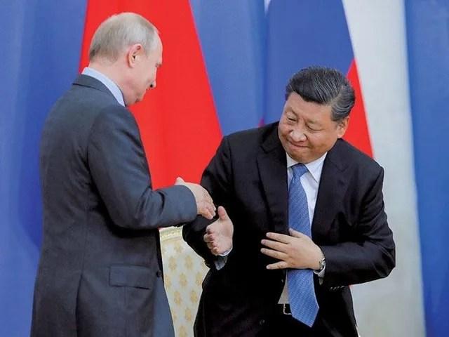 こびる習近平をプーチンは冷笑? 中國・ロシア「対米共同戦線 ...