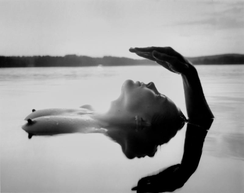 16_Self-portrait with Maija-Kaarina, Sysma, Finland, 1992  ⓒArno Rafael Minkkinen.jpg