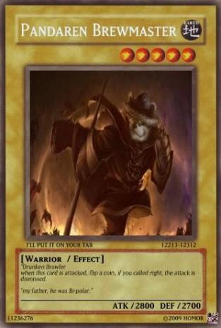 Fake Yu Gi Oh Cards Episode 2 Pandaren Brewmaster By Homor