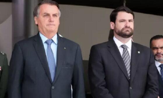 Presidente Bolsonaro e Fernando Moura