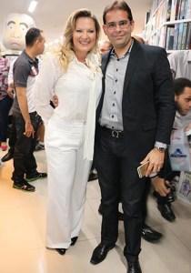 Joice Hasselman e Daniel Franca