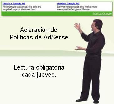 Aclaración de las Políticas de AdSense