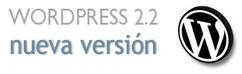 Wordpress, nueva versión