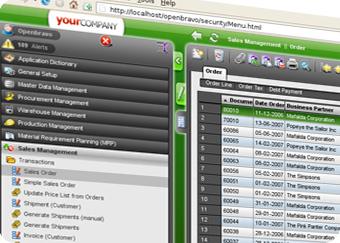 Openbravo: Software de planificación