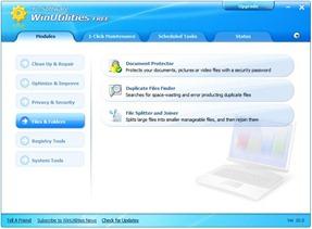 4 WinUtilities aplicación