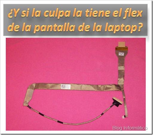 Flex de la laptop
