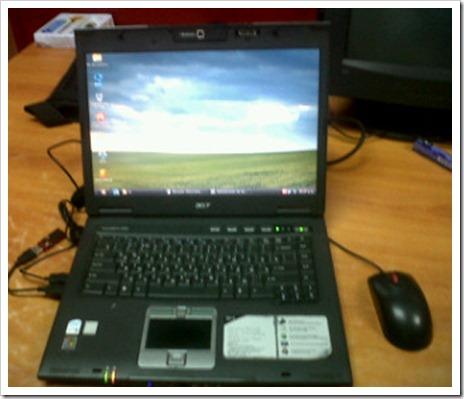 Acer TravelMate 6064 Reparada